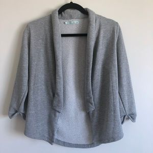 Maurices Gray with Silver Cardigan | S